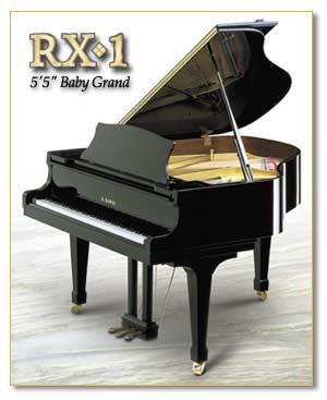 Kawai Concert Grand Piano Rx1